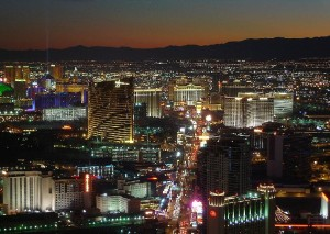 Las Vegas noche